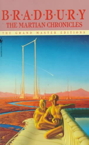 Book-cover-The Martian Chronicles