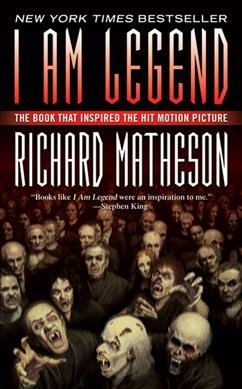 book cover image I Am Legend by Richard Matheson