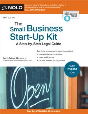 .The Small Business Start-up Kit .