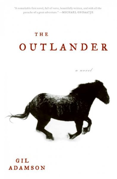 The Outlander book cover
