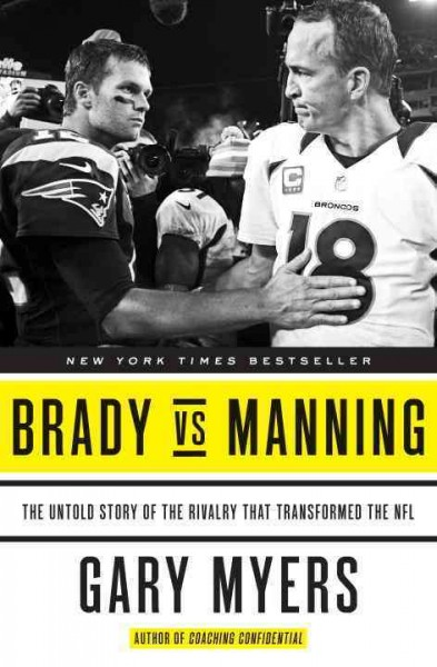 Brady vs. Manning book cover