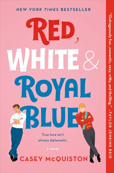 cover of Red, White, & Royal Blue