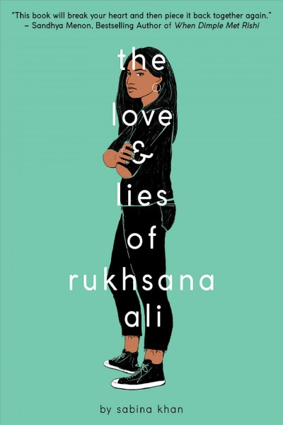book cover: The Love and Lies of Rukhsana Ali
