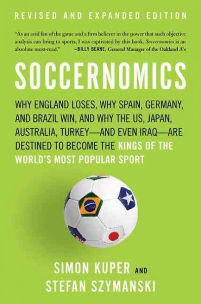 Soccernomics book cover