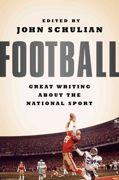 Football book cover