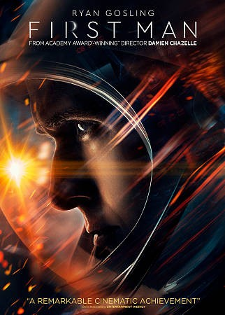 dvd cover image of First Man