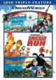 Flushed away ; Chicken run ; Wallace & Gromit, curse of the were-rabbit.