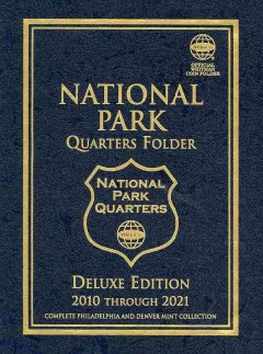 National Park Quarters Folder Deluxe Edition 2010-2021