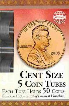 Cent Size: 5 Coin Tubes