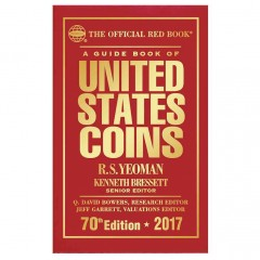 Guide Book of United States Coins 2017, A (The Official Red Book)