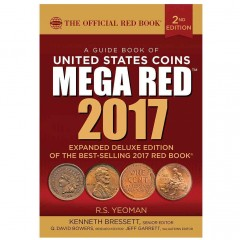 Guide Book of United States Coins Mega Red Book 2017, A: The Official Red Book