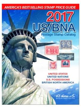 US/BNA Postage Stamp Catalog 2017