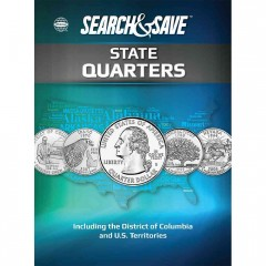 Whitman Search & Save State Quarters: Including the District of Columbia and U.S. Territories 1999 to 2009