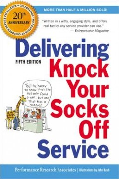 Delivering Knock Your Socks Off Service. 20th Anniversary Edition