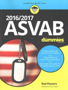 ASVAB for Dummies 2016 / 2017