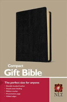 Holy Bible: New Living Translation. Black Leather, Promo Edition