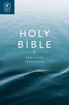 Holy Bible Gift and Award Edition: New Living Translation. Blue