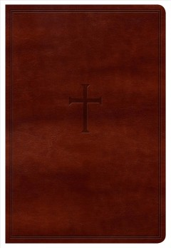 Holy Bible: New King James Version Personal Size Reference Bible (Brown, Leathertouch)