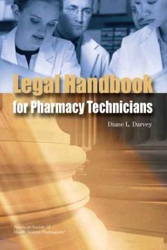 Legal Handbook for Pharmacy Technicians