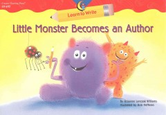 Little Monster Becomes an Author