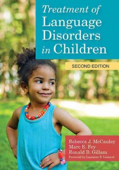 Treatment of Language Disorders in Children (Book & DVD)