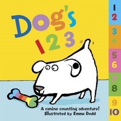 Dog's 123: A Canine Counting Adventure!