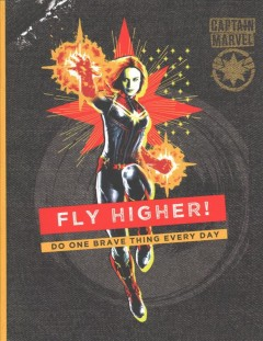 Captain Marvel Journal?Fly Higher!: A Guided Empowerment Journal