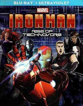 IRON MAN: RISE OF THE TECHNOVORE BLU-RAY