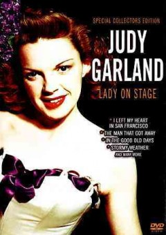 JUDY GARLAND:LADY ON STAGE