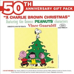 A Charlie Brown Christmas 50th Anniversary Gift pack