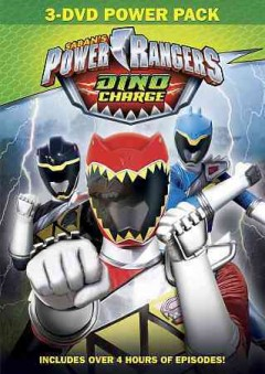 POWER RANGERS DINO CHARGE 3 PACK