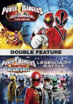 POWER RANGERS DOUBLE FEATURE:  CLASH OF THE RED RANGERS/ THE LEGENDARY BATTLE