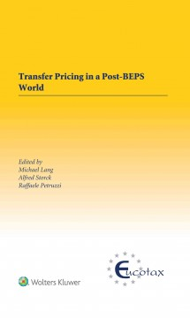Transfer Pricing in a Post-BEPs World
