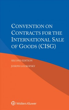 Convention on Contracts for the International Sales of Goods
