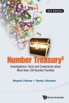 Number Treasury:  Investigations, Facts And Conjectures About More Than 100 Number Families
