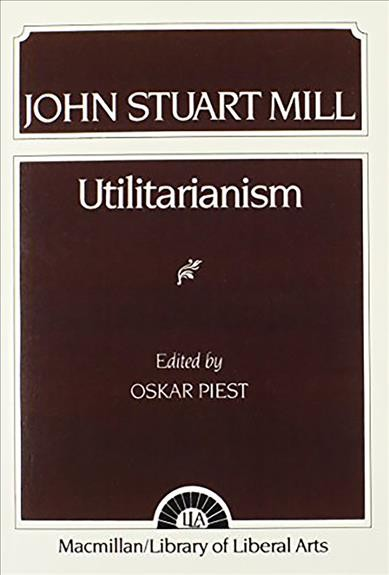 Mill: Utilitarianism cover