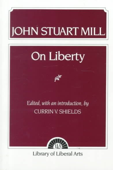 On Liberty (Library of Liberal Arts) cover