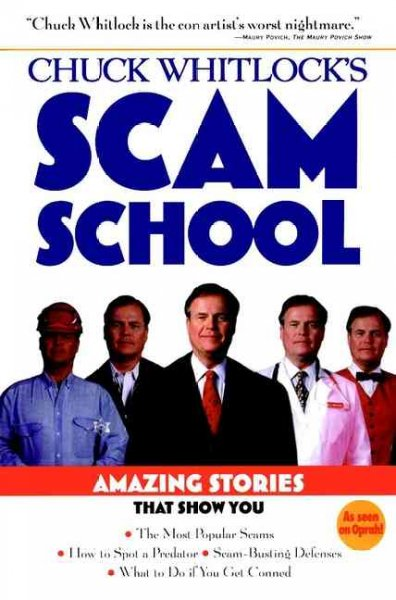 Chuck Whitlock's Scam School cover