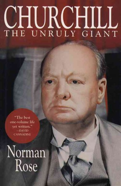 Churchill: The Unruly Giant cover