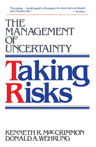 Taking Risks cover