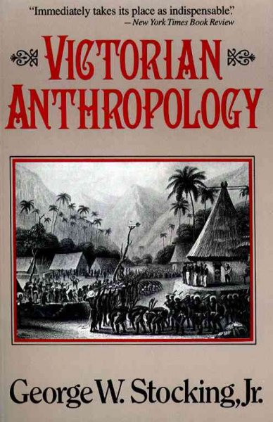 Victorian Anthropology cover
