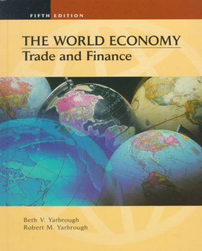 World Economy: Trade and Finance cover