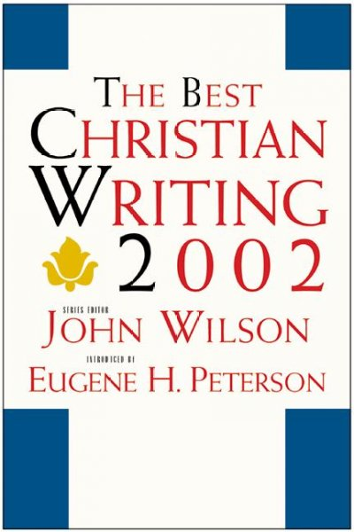 The Best Christian Writing 2002 cover