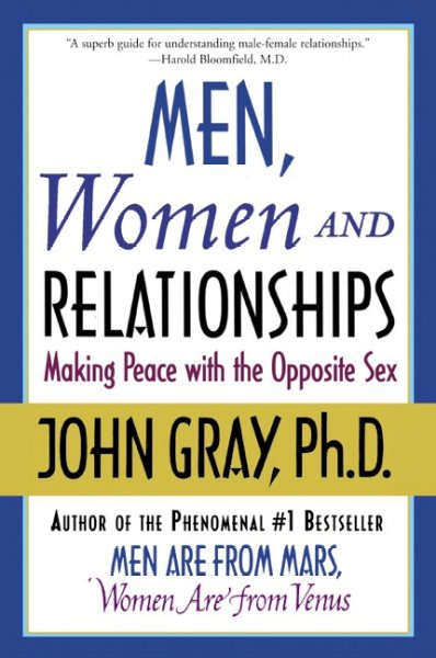 Men, Women and Relationships: Making Peace with the Opposite Sex cover