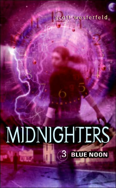 Midnighters #3: Blue Noon cover
