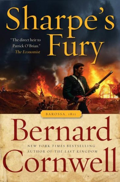 Sharpe's Fury: Richard Sharpe & the Battle of Barrosa, March 1811 (Richard Sharpe's Adventure Series #11) cover