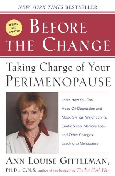 Before the Change: Taking Charge of Your Perimenopause cover