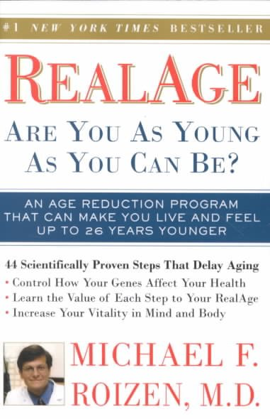 RealAge: Are You as Young as You Can Be? cover
