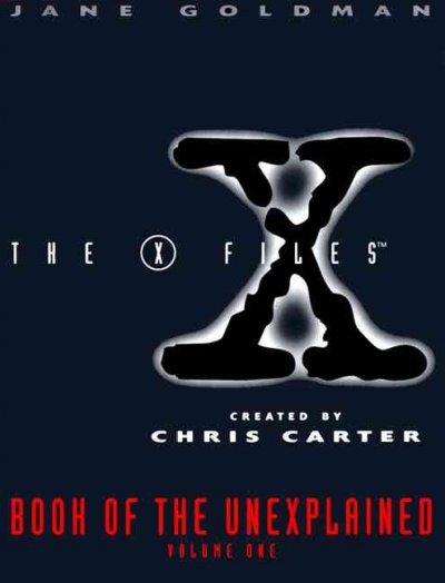 X-Files Book of the Unexplained, Volume One cover