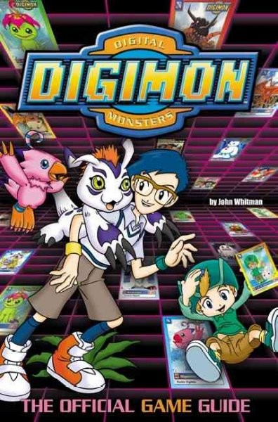 Digimon: The Official Game Guide (Digimon (HarperCollins)) cover